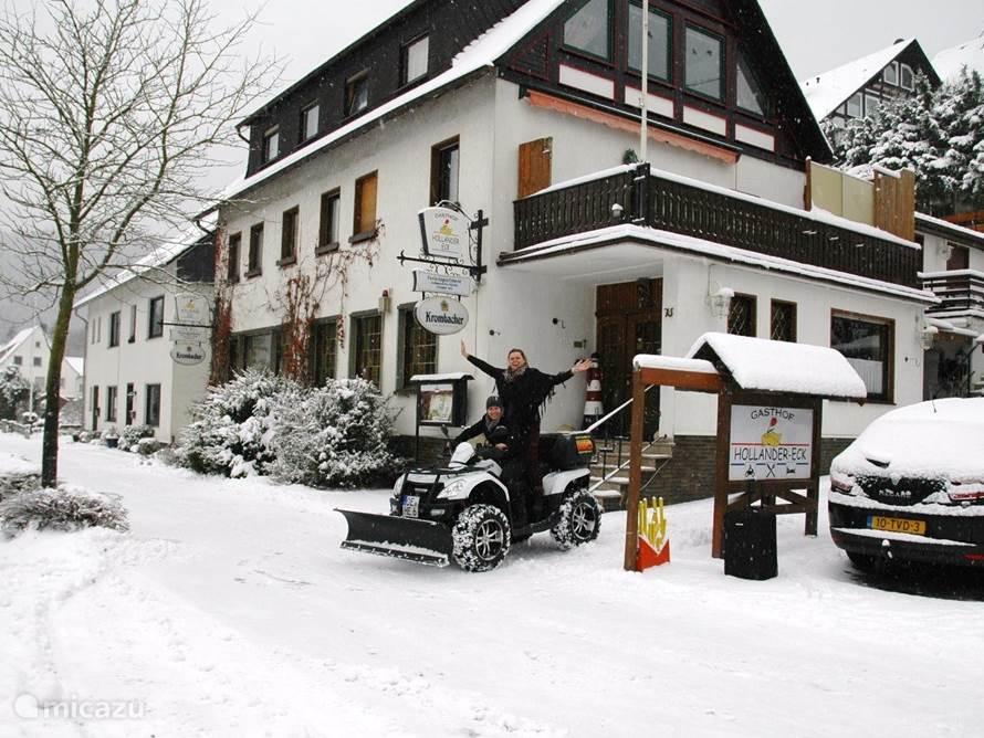 Ruim sneeuw in het mooie Sauerland voor volop winterpret.