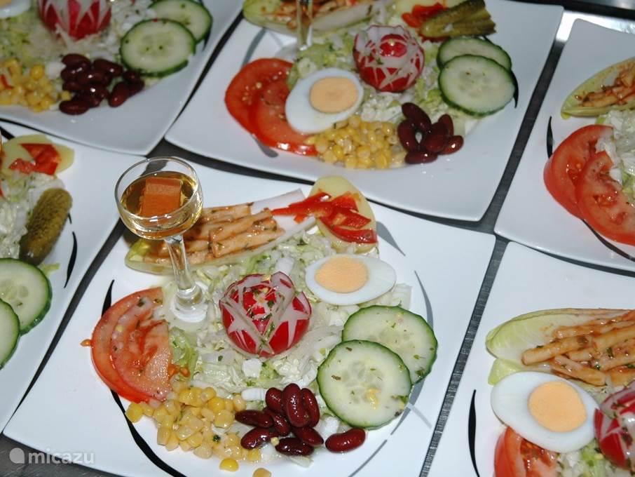 Petit restaurant en friture en ontbijtservice voor een echte ontspannen vakantie.