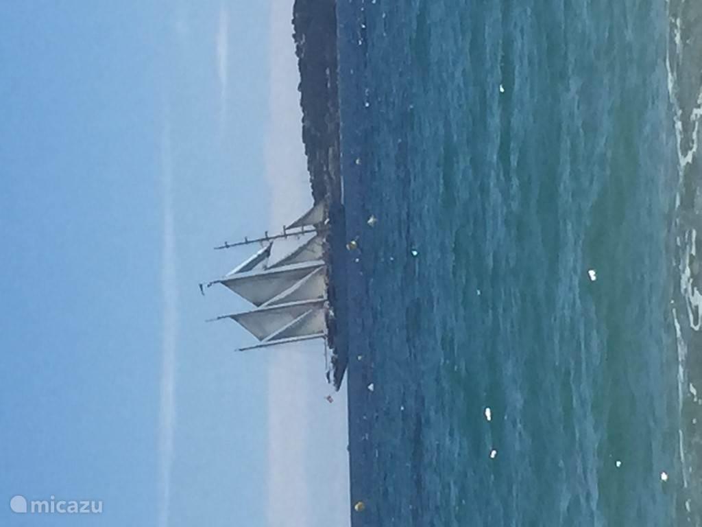 Voile, spectaculair zeil evenement in de baai van St Tropez