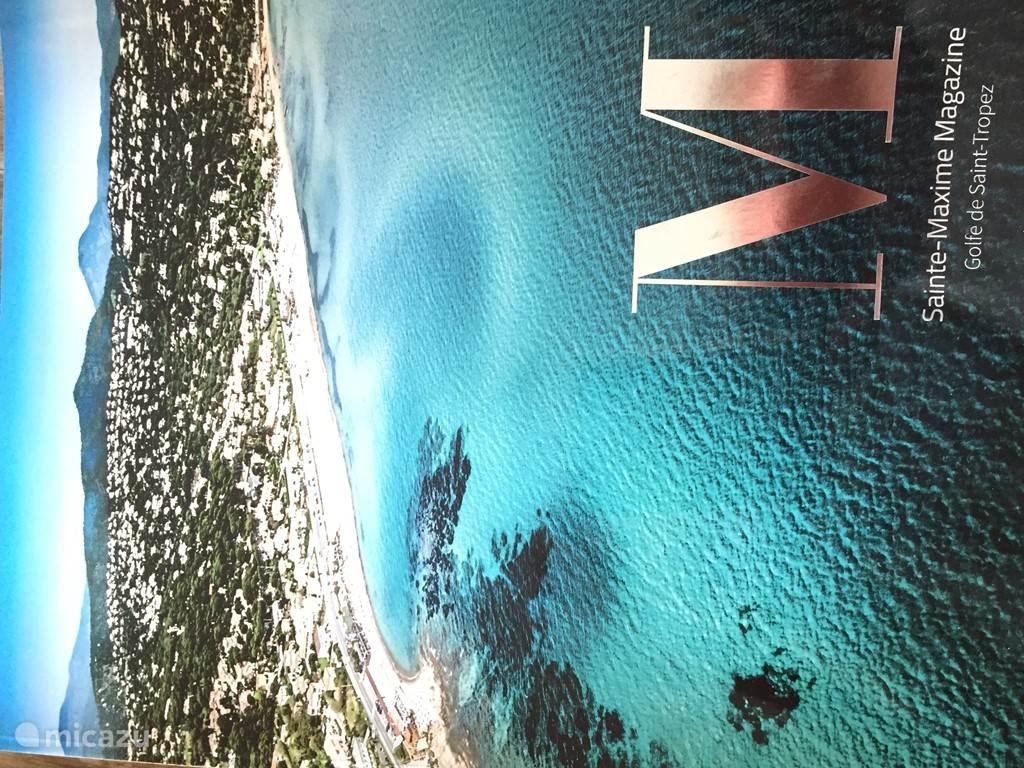 baai van Ste Maxime vanuit de lucht