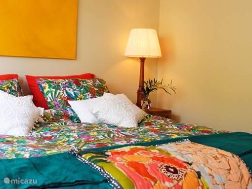 Slaapkamer met airco/inverter en vloerverwarming