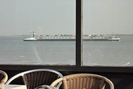 Uitzicht vanaf Strandbrasserie de Landing