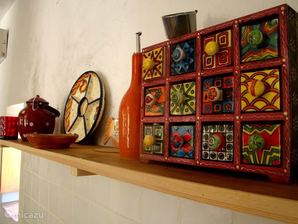 Detail van keuken