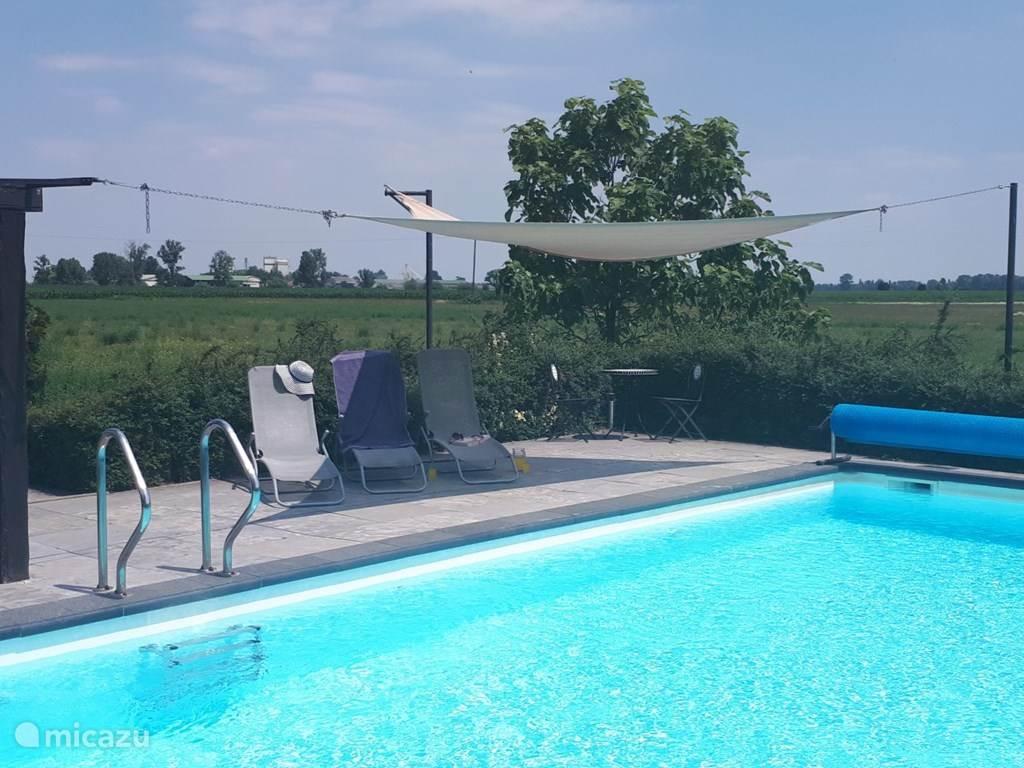 Heerlijk zwembad met privacy