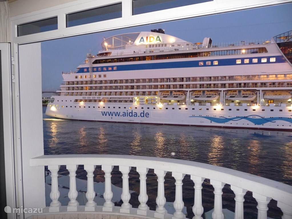 Almost daily cruise ships for the door.