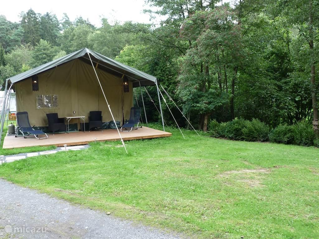 Vacation rental Germany Hesse Kirchberg/Niedenstein Gl&ing / Safari tent / Yurt Gl&ing / Safari Tent ... & Glamping / Safari Tent in Kirchberg/Niedenstein Hesse rent? - Micazu