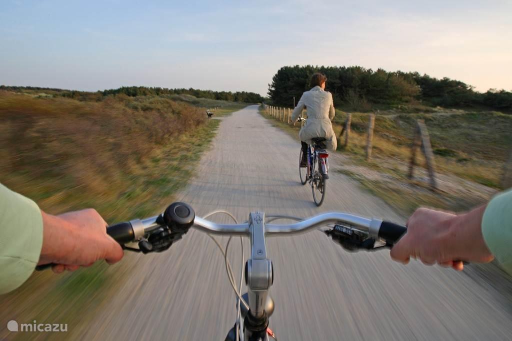 Schitterend fietsgebied door de duinen van Noordwijk.