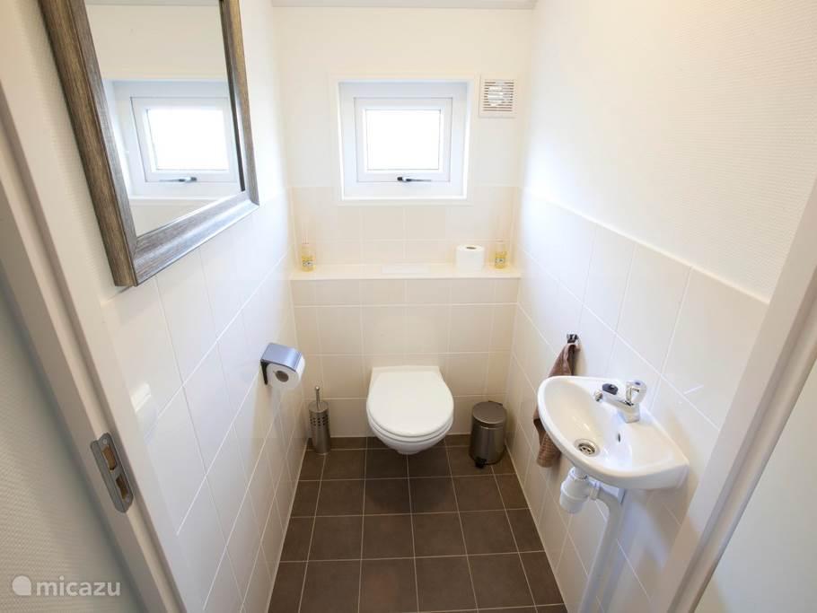 Toilet Vakantiehuis Puik en Duin Noordwijk