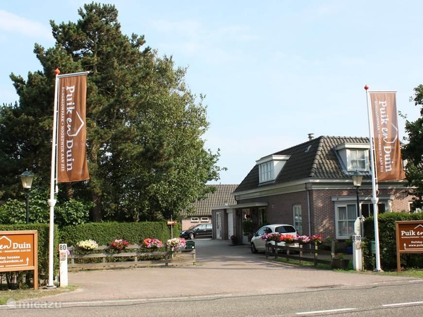 Entree Bungalowpark Puik en Duin Vakantie Noordwijk