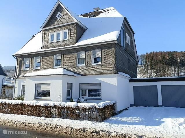Villa Annabelle in de winter, een prachtige uitvalsbasis voor een lekker ski-weekend.