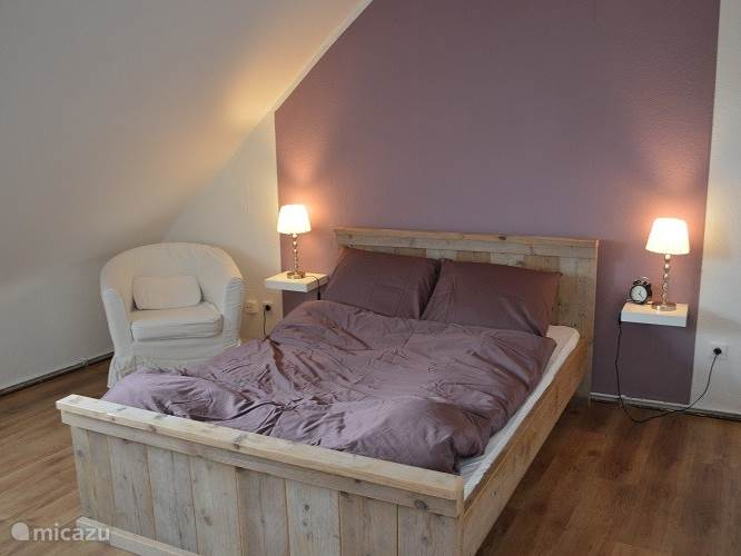 cozy bedroom with 2 double bed