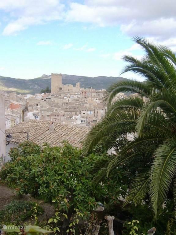 oude stadsgedeelte van Moratalla.