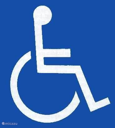 Volledig rolstoelaangepaste woning.