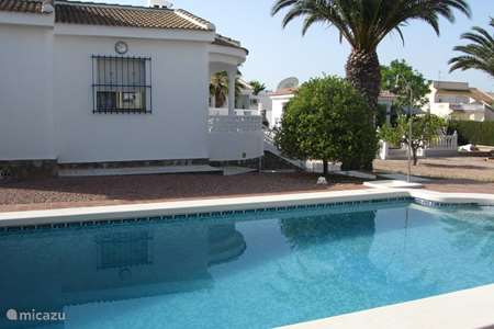 Vacation rental Spain, Costa Blanca, Ciudad Quesada villa Casa Juanne