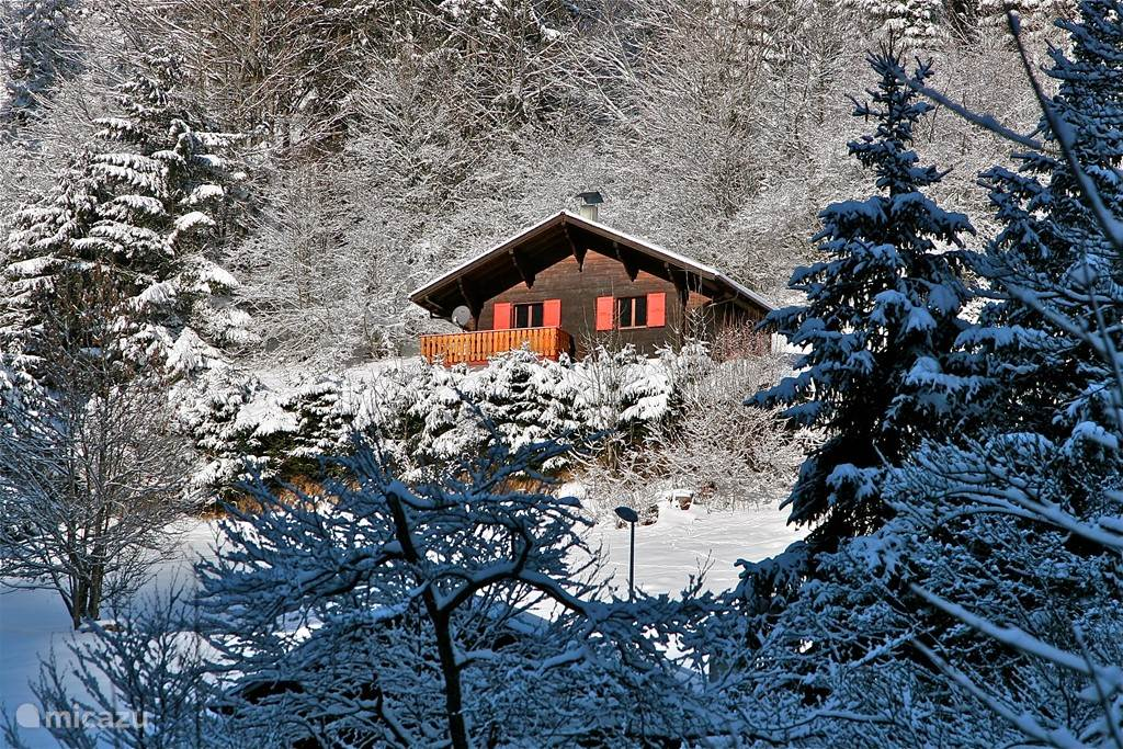 Chalet Mignon in de winter