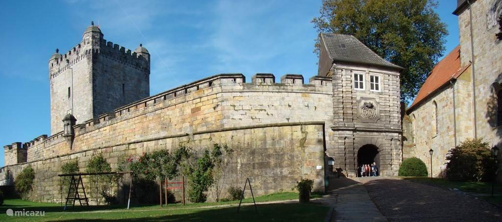Bad Bentheim in Duitsland net over de grens