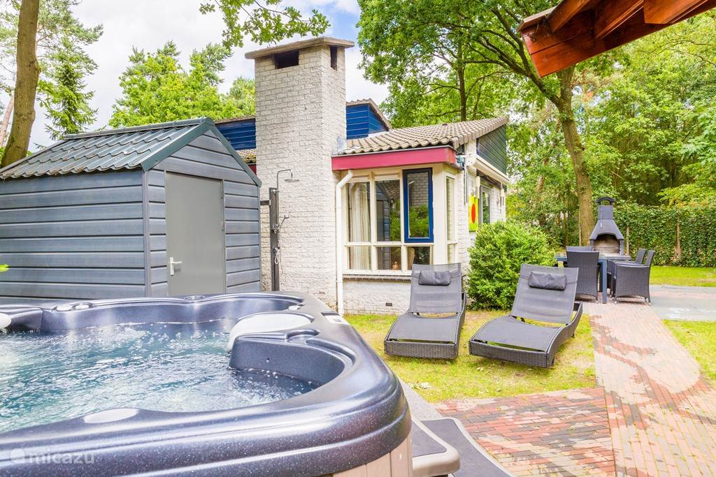 Vacation rental Netherlands, Gelderland, Ermelo bungalow Wellness Bungalow Dahlia (4-6 pers)