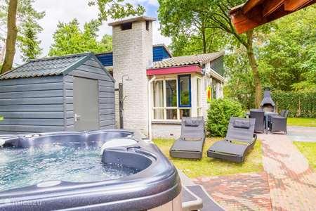 Vakantiehuis Nederland, Gelderland, Ermelo - bungalow Wellnessbungalow Dahlia (4 - 6 pers)