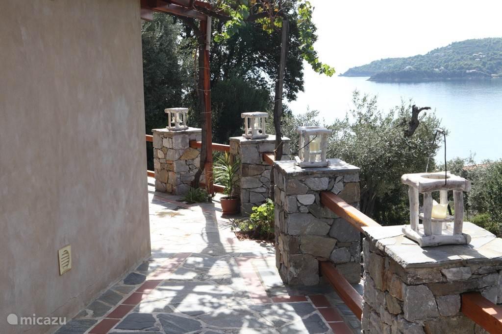 Vakantiehuis Griekenland, Skiathos, Skiathos-Stad Blokhut / Lodge Bahari