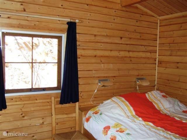De romantische slaapkamer.