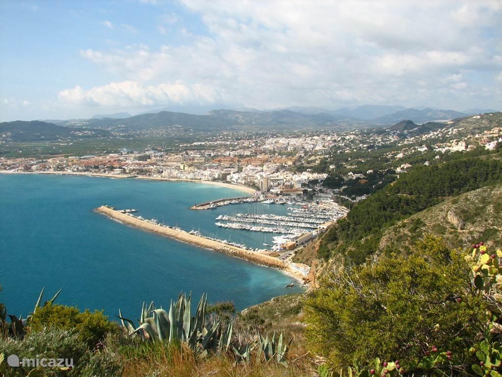 javea vanuit Cabo Antonio
