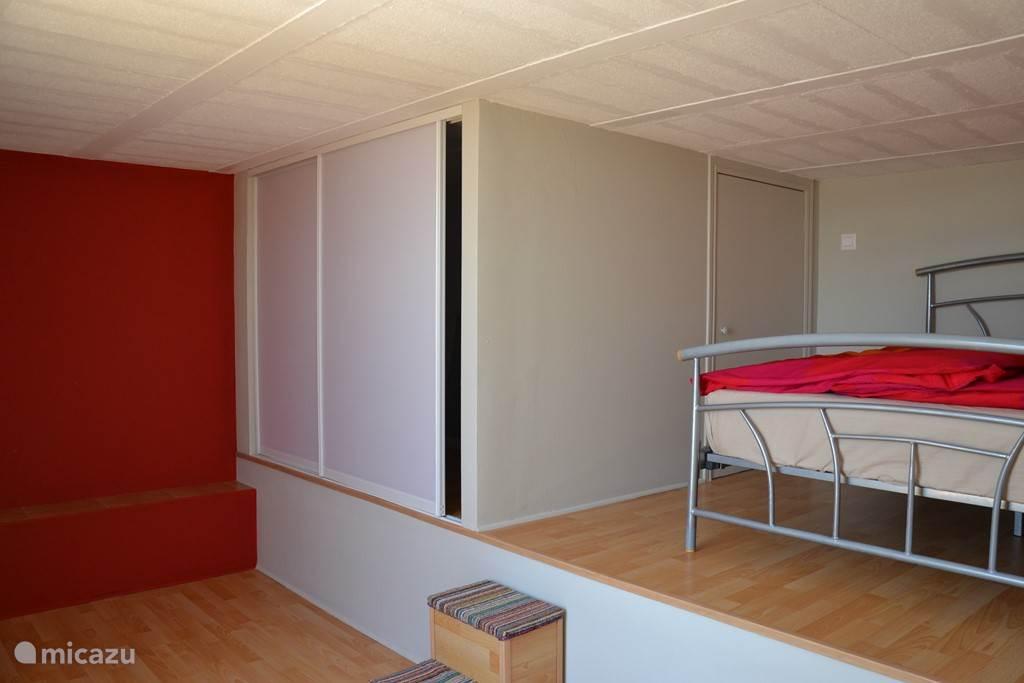 Slaapkamer aan solarium