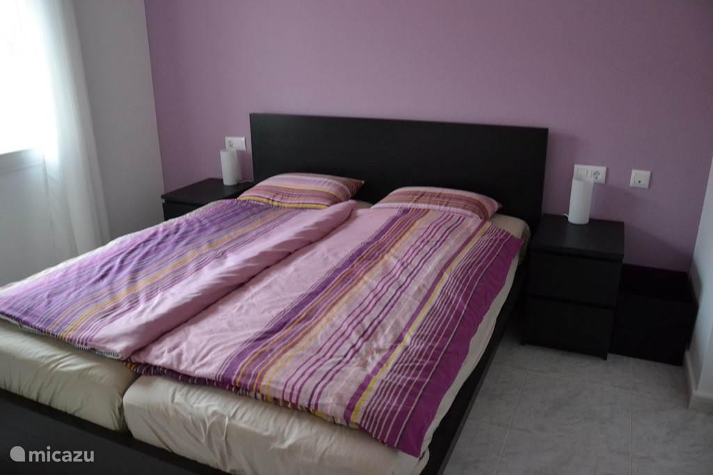 Grotere slaapkamer