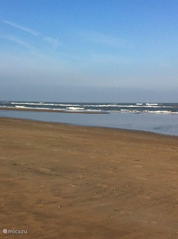 het nabij gelegen strand