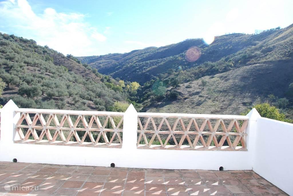 Balkon/terras op de 1e verdieping