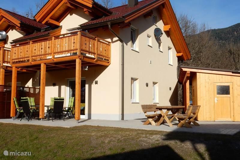 Vakantiehuis Oostenrijk, Karinthië, Kötschach-Mauthen Chalet Chalet Edelweiss