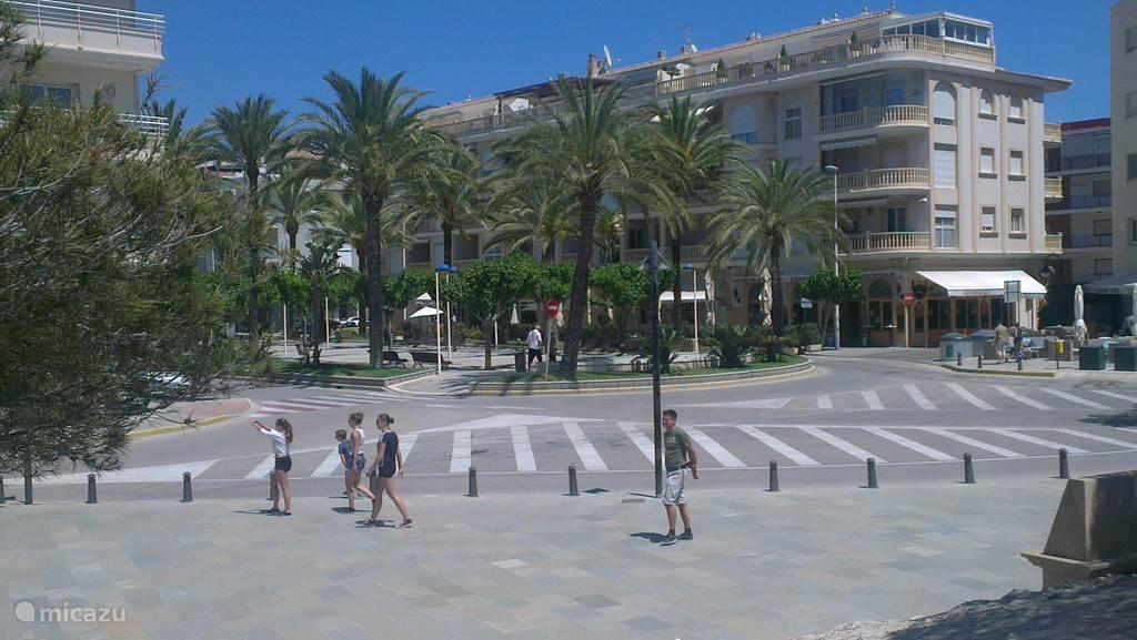 Gezellige boulevard