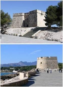 Het fort van Moraira