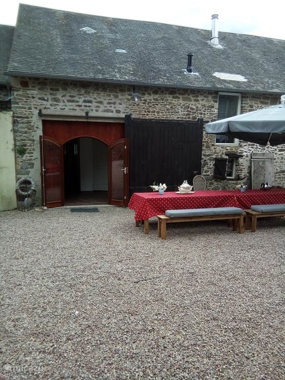 Vacation rental France, Normandy, Menil-Vin holiday house Gite Rouge, Menil Vin, Normandy