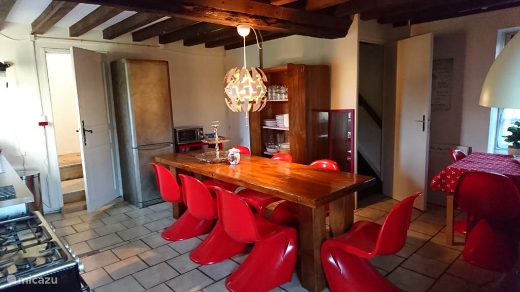 Vacation rental France, Normandy, Menil-Vin Holiday house Tricolore, Gite Rouge