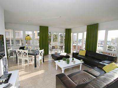 Vakantiehuis Spanje, Mallorca, S'Arenal appartement Vista Alegre betekend mooi uitzicht