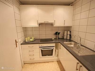 De nieuwe keuken.