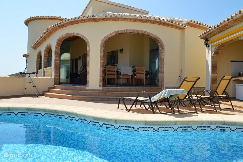 Vakantiehuis Spanje, Costa Blanca, Rafol d' Almunia - villa El Sueno