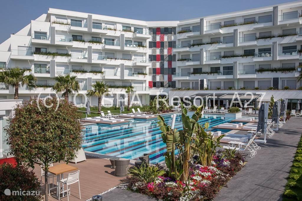 Vakantiehuis Turkije, Turkse Rivièra, Side Appartement Q Spa Resort - Side - Evrenseki