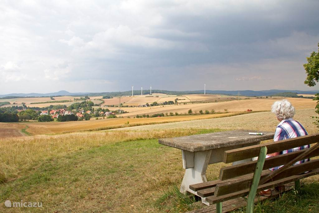 Uitzicht bij Imshausen.