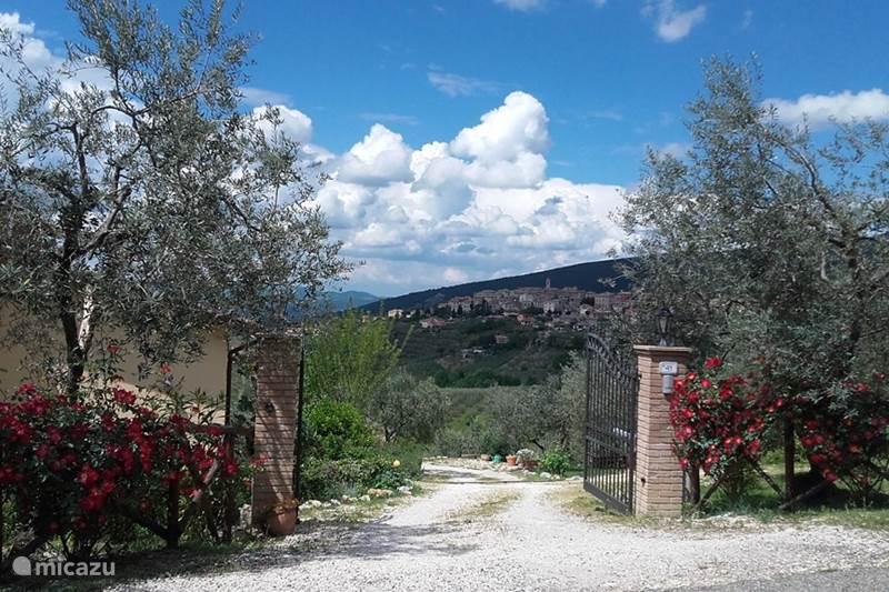 Vakantiehuis Italië, Umbrië, Montecchio Appartement Casacarnano