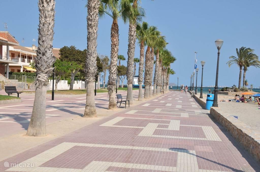 brede boulevard en strand. De zee is hier 3-4 gr. warmer dan normaal ideaal voor watersporten, (zeilschool aanwezig) fietscross, wandelen/joggen of lekker zonnen en zwemmen