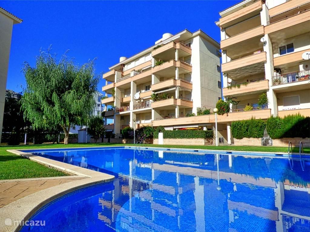 Vakantiehuis Spanje, Mallorca – appartement Modern appartement met zwembad!