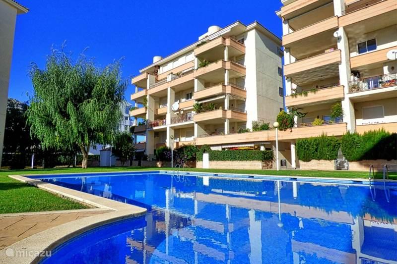 Appartement modern appartement met zwembad in alcudia mallorca spanje huren for Modern zwembad
