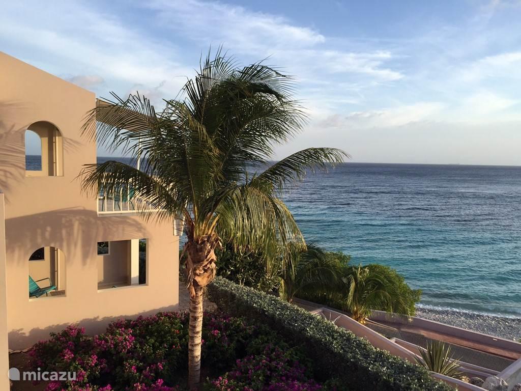 Studio en uitzicht op de Caribische Zee