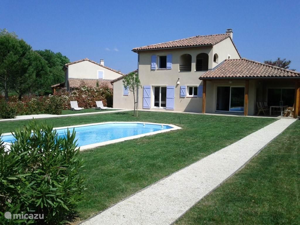 Vakantiehuis Frankrijk, Ardèche, Vallon-Pont-d'Arc villa Villa 41-Papillon+verw. zwembad+@