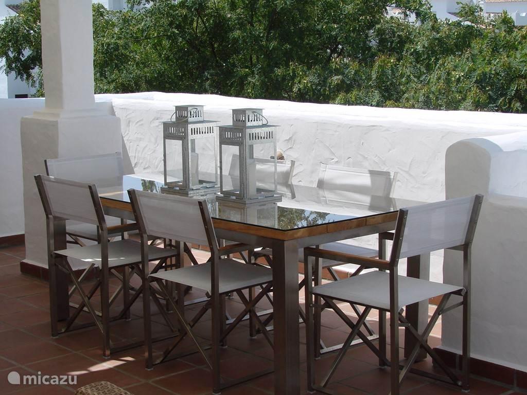 Eettafel buiten