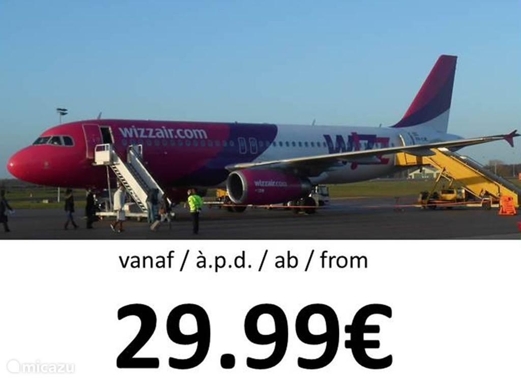 ...inderdaad, 29.99€ per person... Raadpleeg de website van WIZZAIR.com.