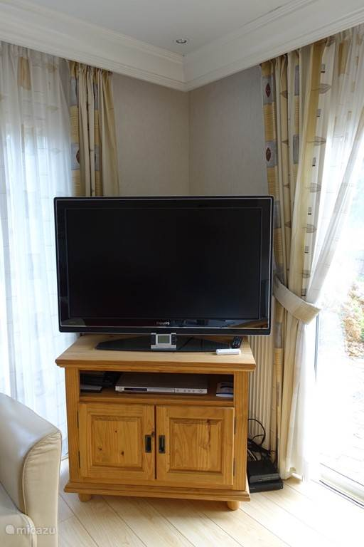Mega flatscreen televisie met DVD speler