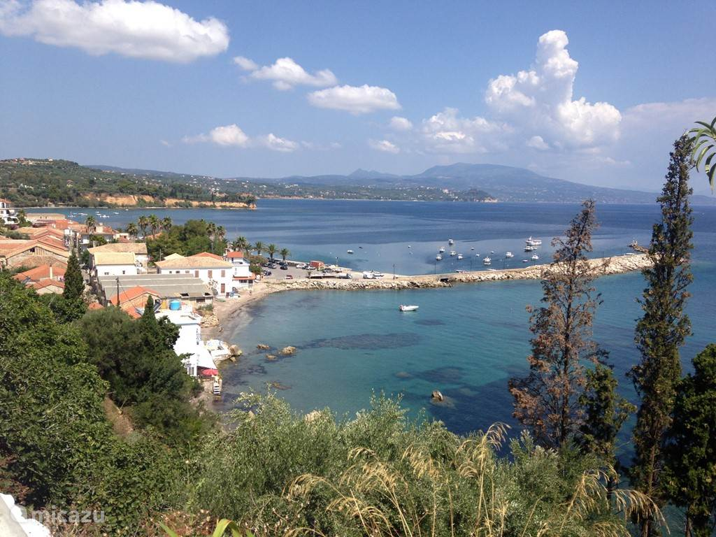 This is Koroni, 28 kilometers away.