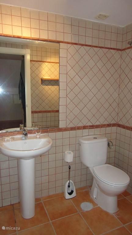 toilette ruimte sousterrain